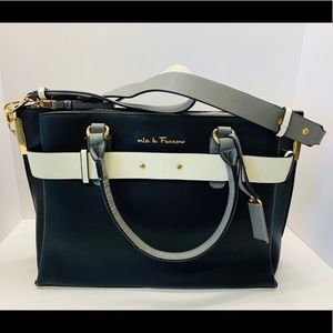 MFK Collection Coleen Satchel Bag